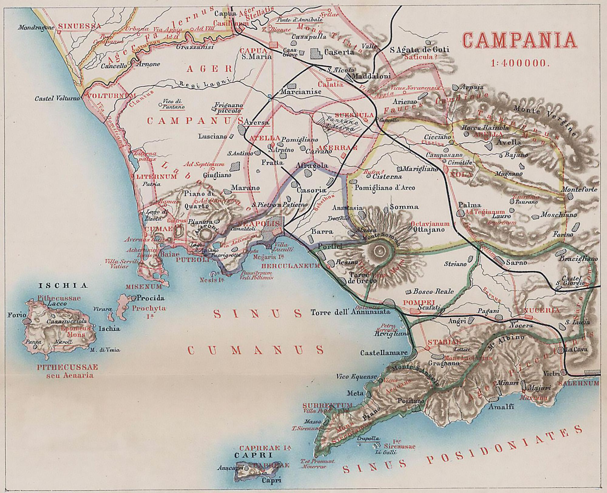 maps bay of naples