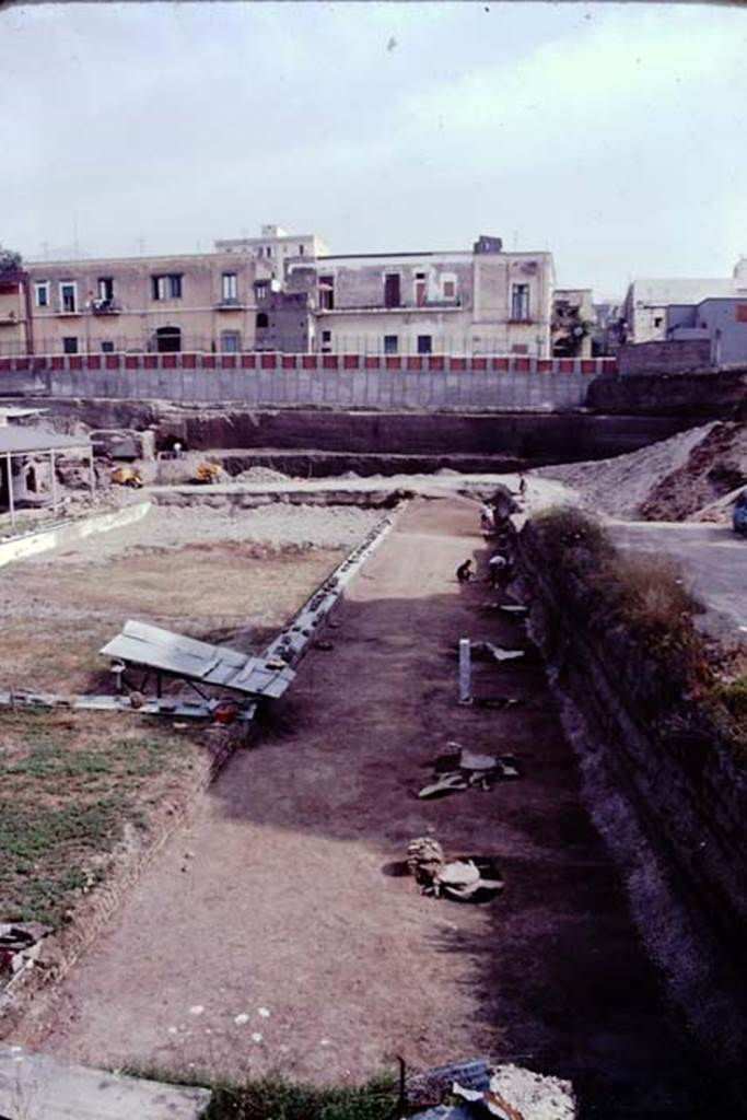 Oplontis looking north along east side of - University of maryland swimming pool ...
